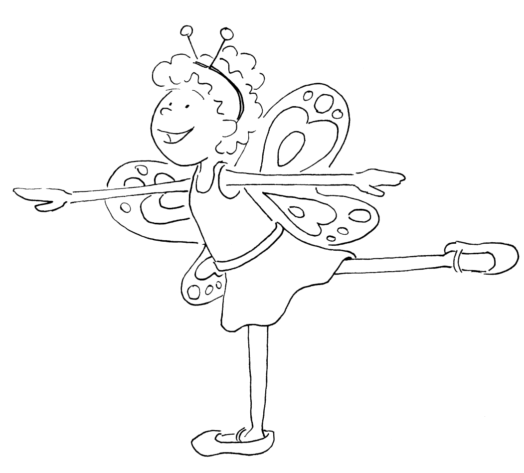 Coloring pages ballerina - Coloring Pages Ballerina 58