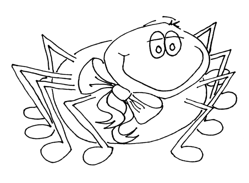 little miss muffet coloring pages - photo#16
