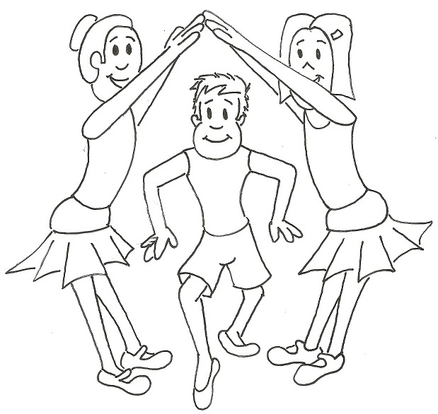 4 Year Old Dancing Coloring Coloring Pages