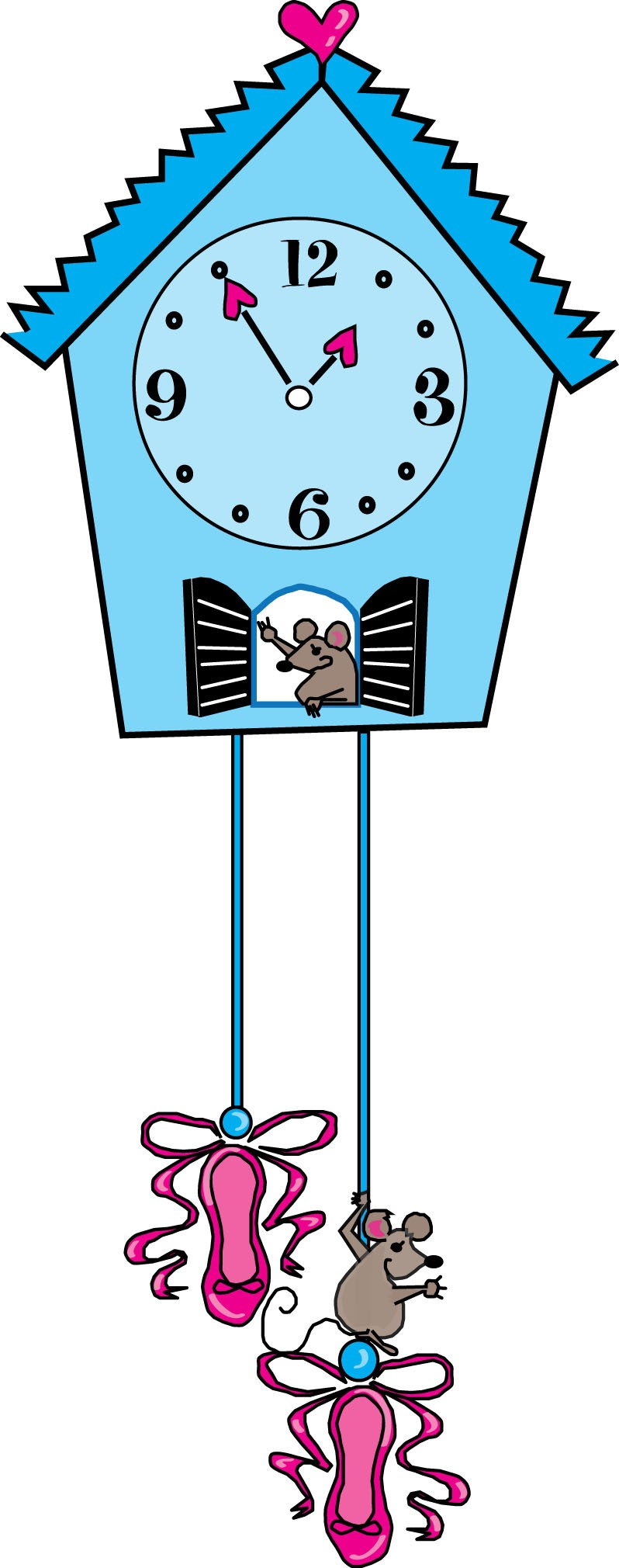 Pics Photos - Hickory Dickory Dock Coloring Page Super Coloring
